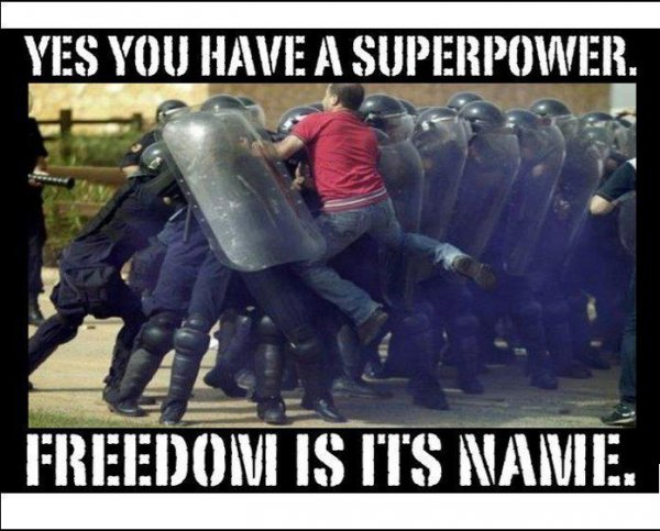 Superpower - Freedom