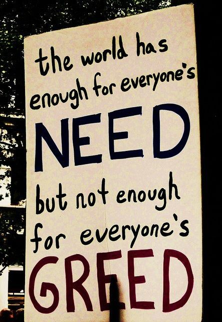 Need & Greed