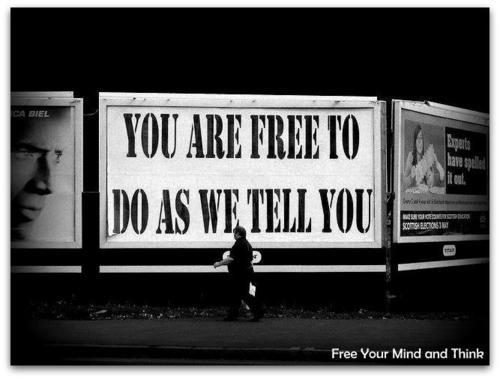 YOU ARE FREE...