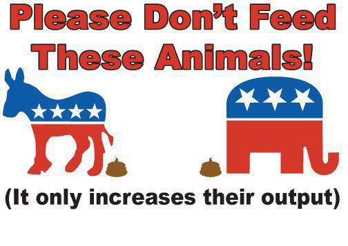 Don't Feed This Animals