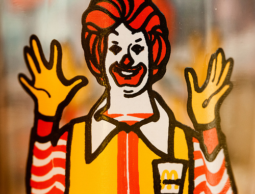 mcdonald's serving fast food When the american fast-food giant first contacted him in 1994 amit's first  challenge was close to home, convincing his vegetarian family to.
