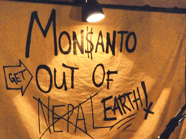 Street Riots Form in Response to Monsanto Intrusion into Nepal
