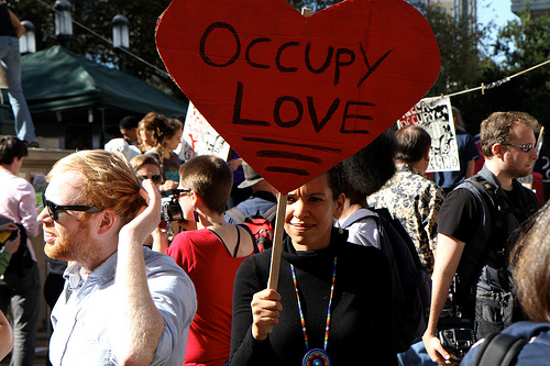 Love as the Force of Revolution: The Occupy Movement and Beyond