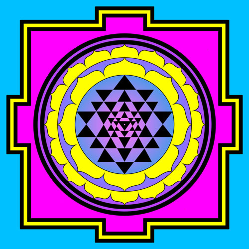 Sri Yantra: The Ultimate Fractal for Healing