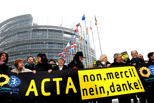 Yes, activism works: European Parliament votes down ACTA by wide margin