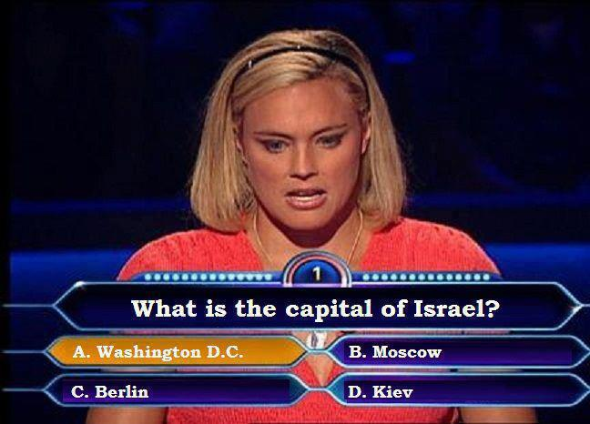 What is the capital of Israel ?