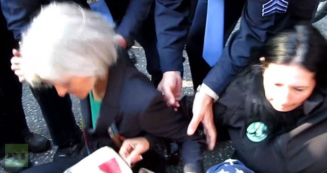 Police arrest US presidential candidate Jill Stein at debate site