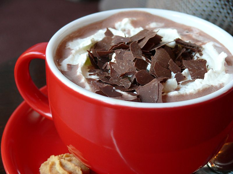 Hot chocolate - Food of the gods! The soulful, superfood that's good for you and deliciously sinful