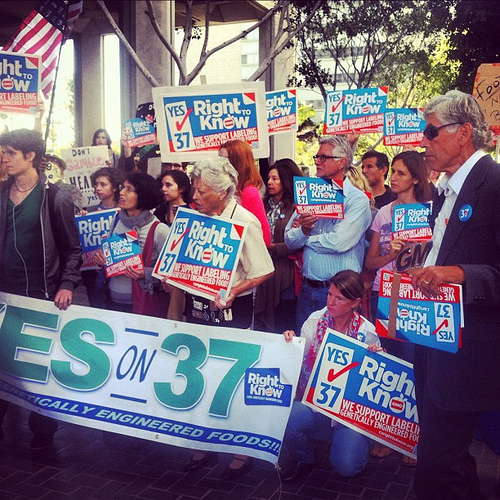 GMO Labeling Bill, Prop 37, Not Have Passed in California
