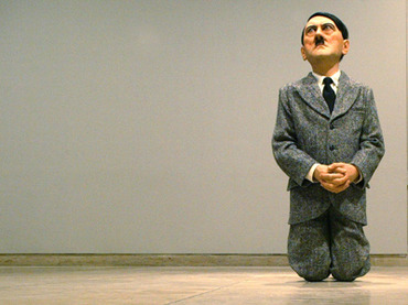 Hitler statue in former Polish ghetto creates furor