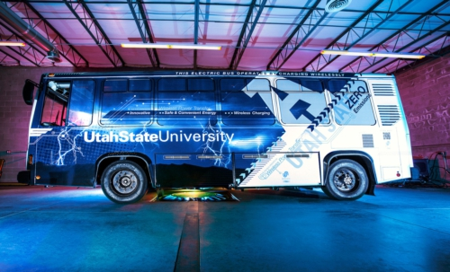 University Uses Tesla Technology to Wirelessly Charge Electric Bus