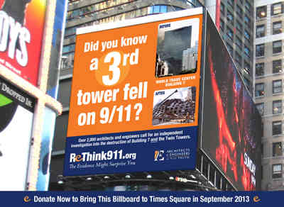 Remember WTC Building Seven: Did You Know that a Third Tower Fell on 9/11?