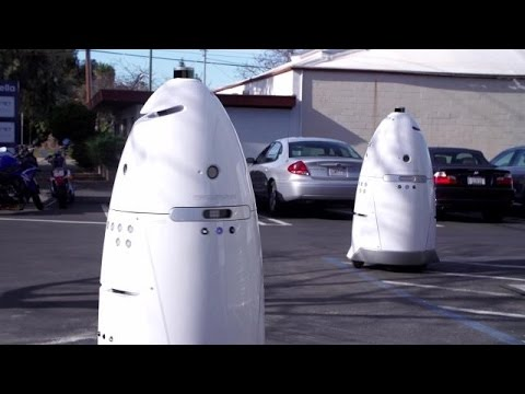 Policing Robots To Hit The Streets In California