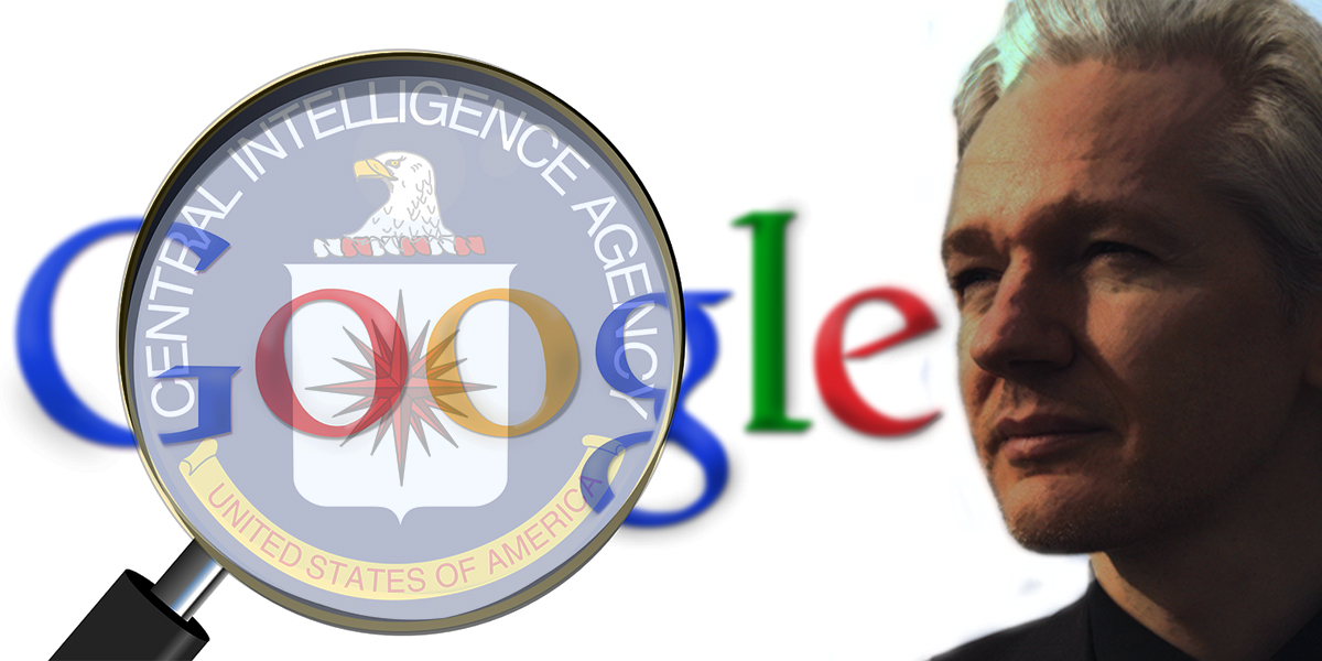 Image result for ASSANGE: GOOGLE IS NOT WHAT IT SEEMS