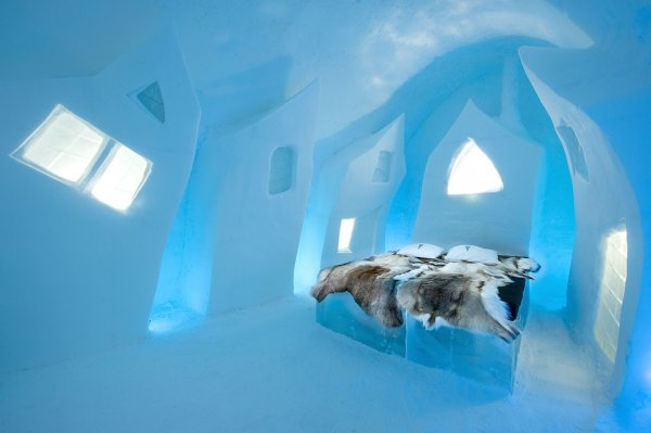 Press release December 2015, ICEHOTEL, Cesare's Wake design by Petros Dermatas (Greece) Ellie Souti (Greece)
