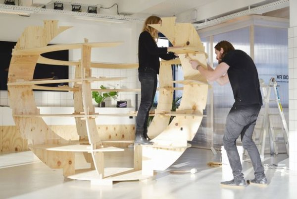 Ikea creates flatpack garden for those with limited space for Ikea flat pack garden