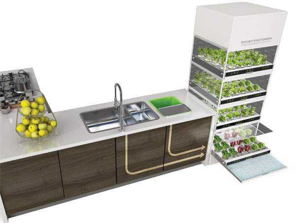 Merveilleux Ikeau0027s Hydroponic System Allows You To Grow Vegetables All Year Round  Without A Garden