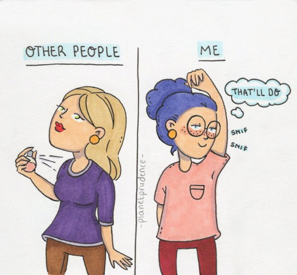 28 Hilarious Illustrations About Women s Everyday Problems 9