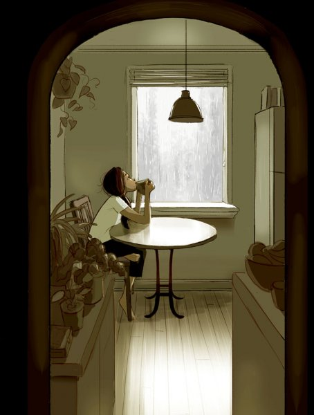 happiness living alone illustrations yaoyao ma van as 116 59918575431d5  700