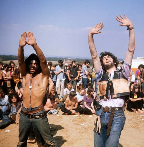 Topless at woodstock #9