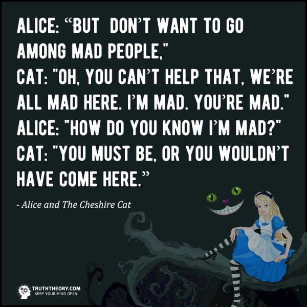 17 Of The Most Powerful Conversations And Quotes From Alice In Wonderland
