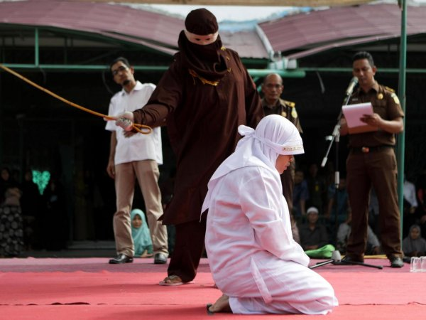 aceh caning