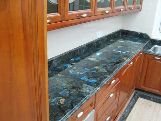 High Quality As A Gemstone Countertop, The Mineral Adds An Element Of Sparkle, Even In  The Darkest Of Kitchens. As The Earth Child Points Out, The Radiant Stone  Easily ...