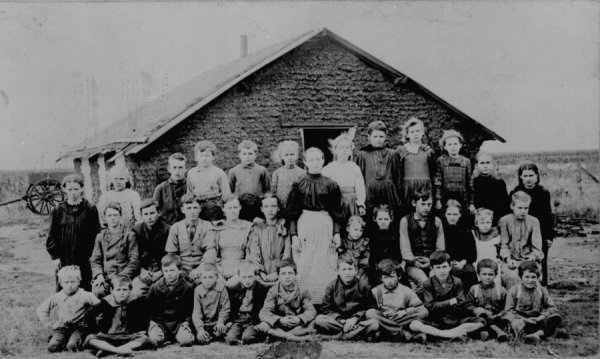 children schoolhouse