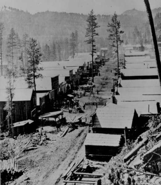 deadwood in 1876
