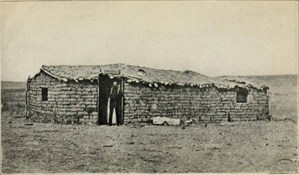 dodge first sod house
