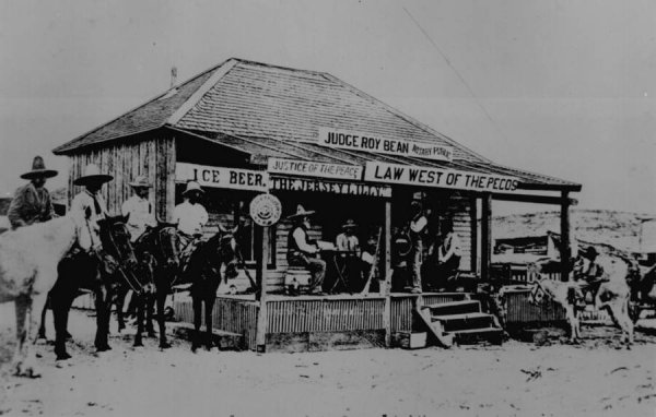judge roy bean building