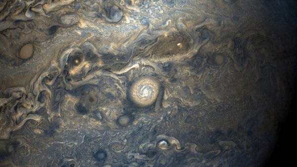 others dazzle with their detail of the planets thick cloud bands and powerful storms