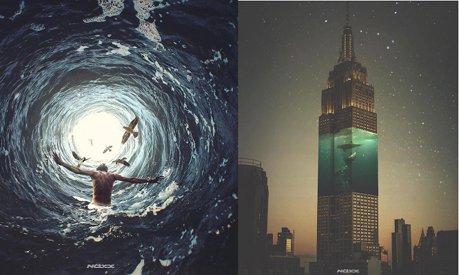 Digital Art Combines Different Ideas To Create 1 Surreal Piece