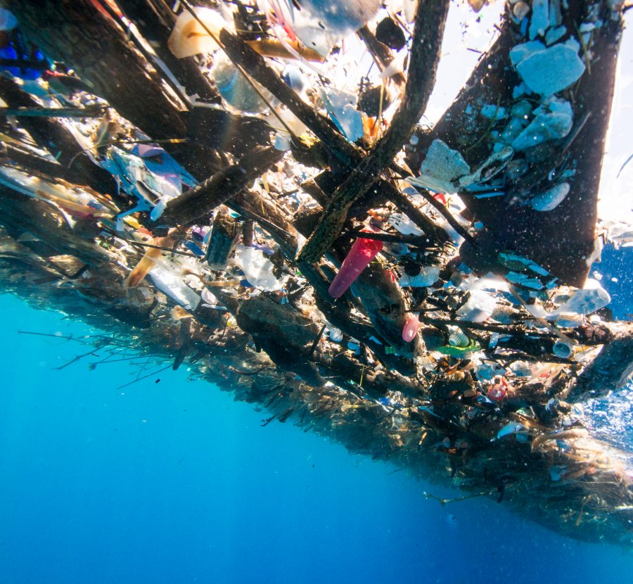 'Sea Of Plastic' Discovered In The Caribbean Stretches Miles And Is Choking Wildlife 9300823-900x830