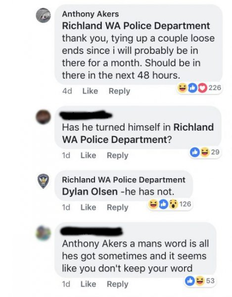 guy hilariously turns himself in to his own wanted post on facebook 2 508x650