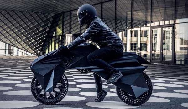 3D printed motorcycle The Peak 1200x700