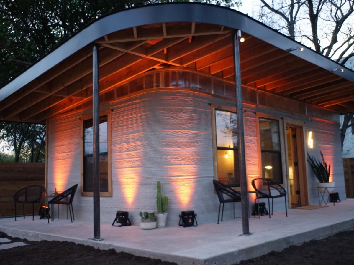 The first 3d printed house in the us was so successful 50 - 3d printed house usa ...