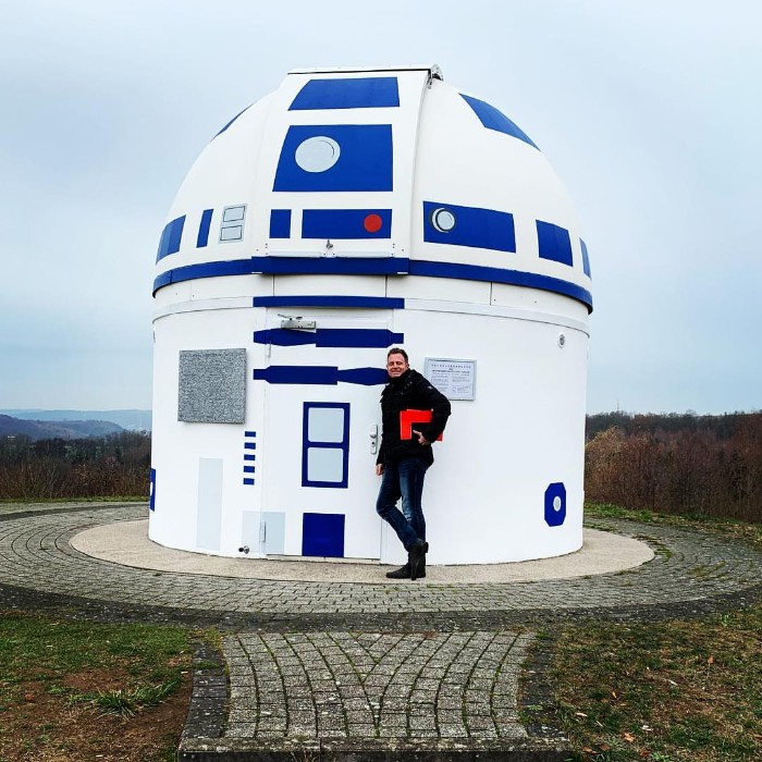 zweibruck observatory germany redesigned r2 d2 star wars hubert zitt 11 5c98adcae7755  700