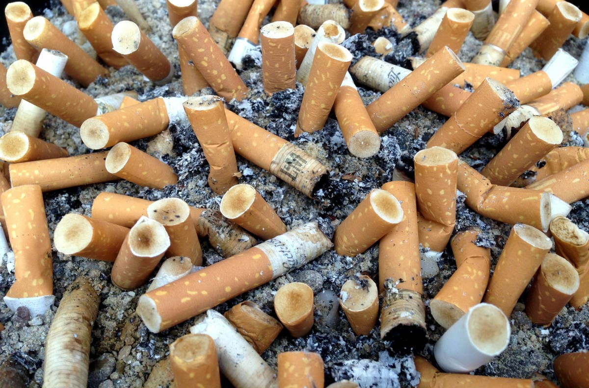 Cigarette Butts: The Most Littered Item In The World Cigarettes_filter_cigarettes_nicotine_addiction_ash_smoking_unhealthy_tilt-1215875