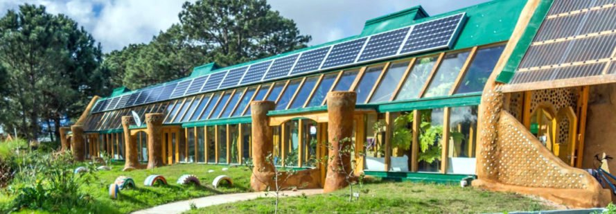Earthship School Michael Reynolds