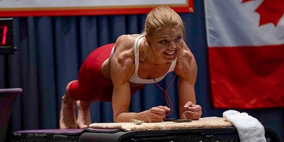 Plank Record Broken by Woman Who Held It For 4 Hours