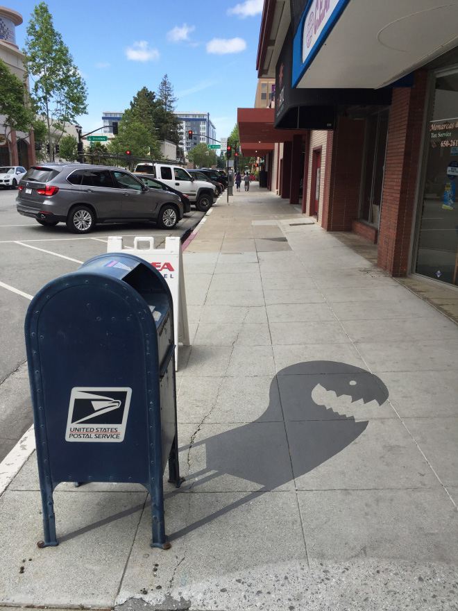 Street Artist Creates Fake Shadows And People Are Confused 2