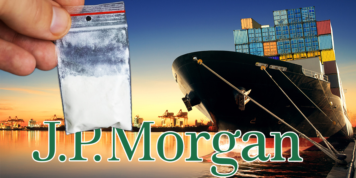 Image result for JP MORGAN COCAINE