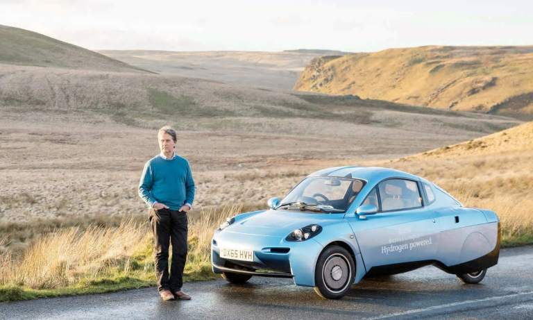 This Futuristic Car Is Powered By Hydrogen And Only Lets Out Water Rasa-5