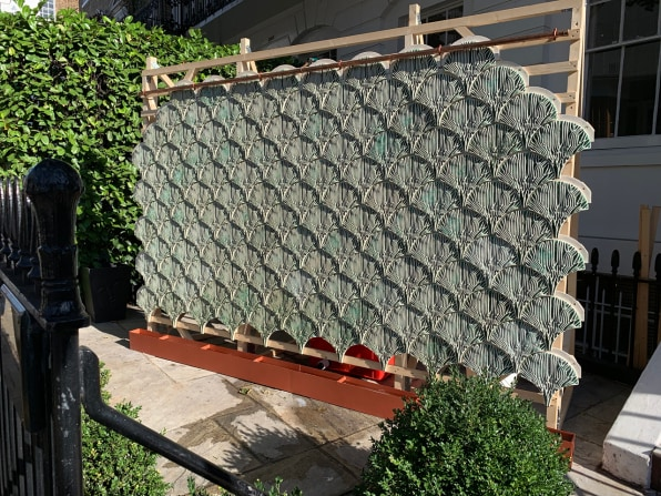 7 90416398 these plant based wall tiles are designed to purify contaminated wastewater
