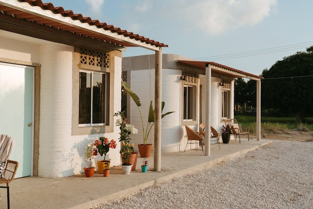 First 3D Printed Houses in Mexico 4 New Story Released 1