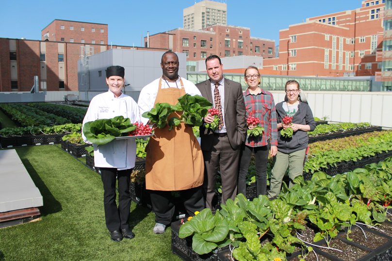 This Hospital Has A Rooftop Garden That Provides Patients With