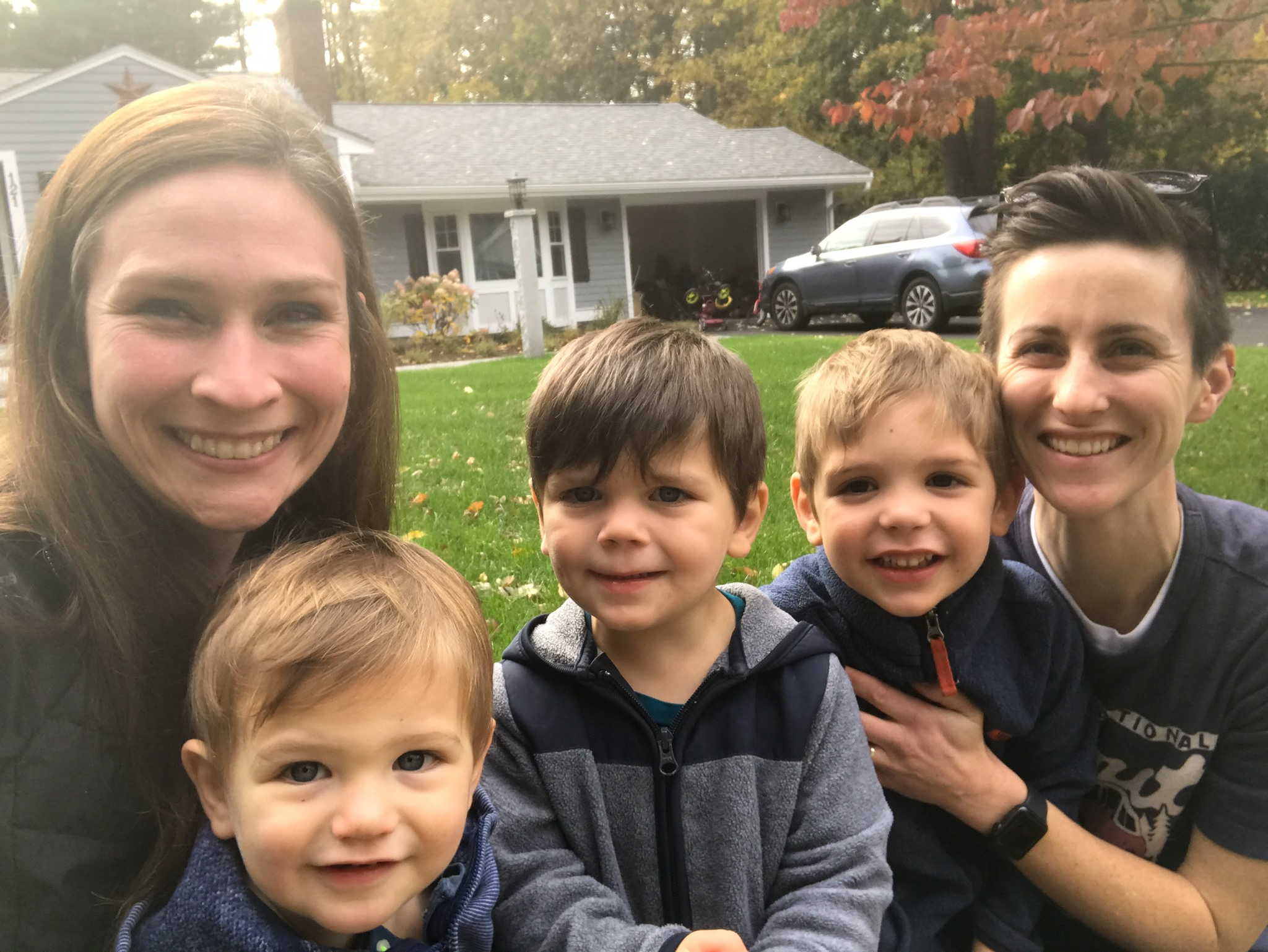 Massachusetts couple with 3 sons