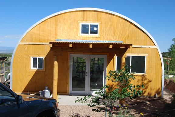 Quonset Kit House 1