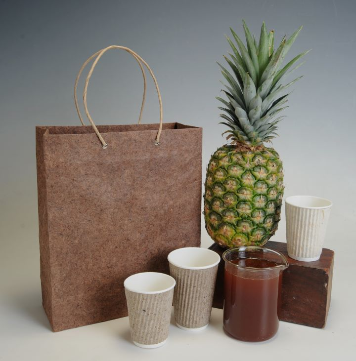 Pinyapel gift bag and cups